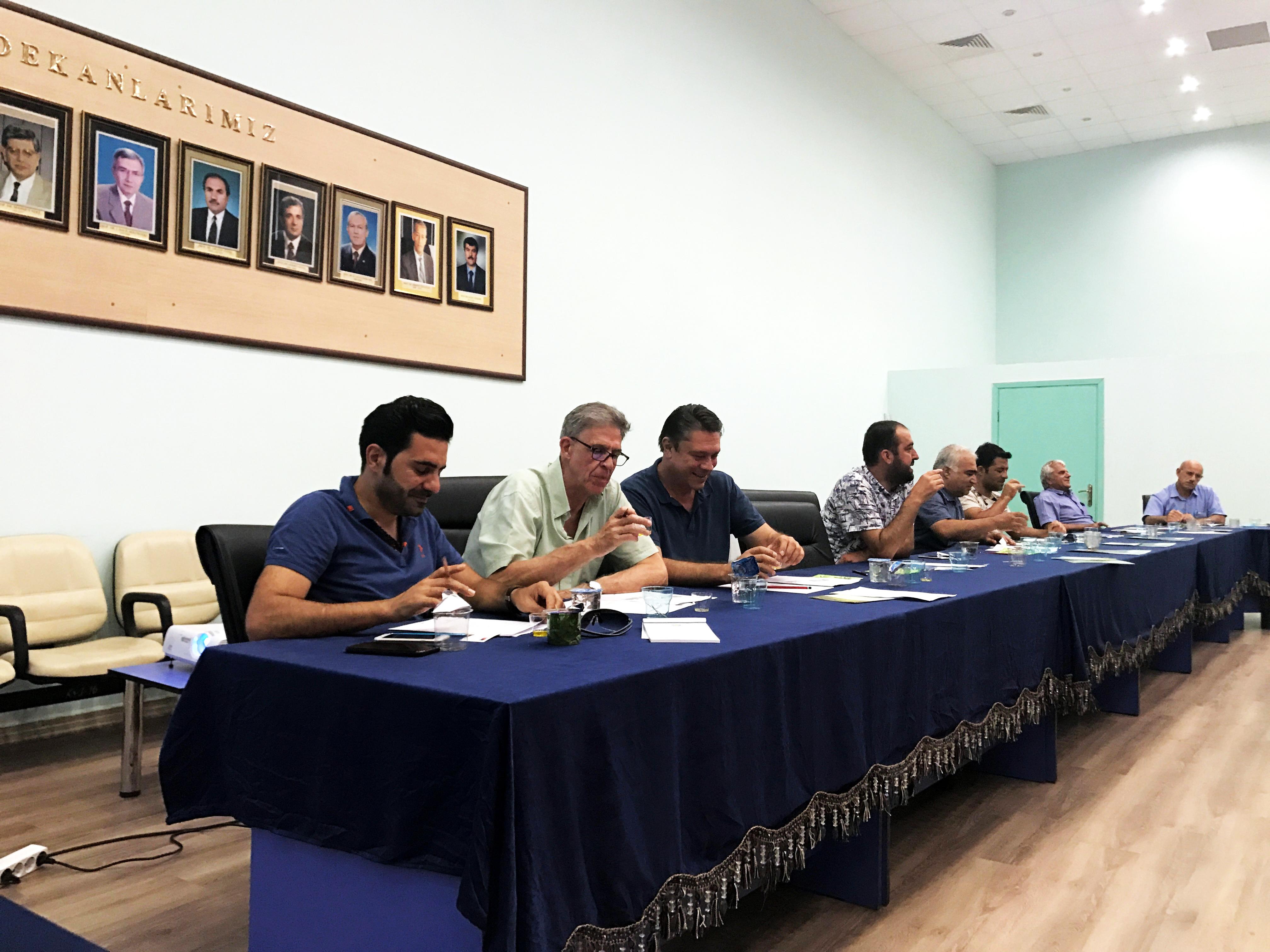 Santiago Botas invitado en el seminario sobre aceite de oliva en Turquía.
