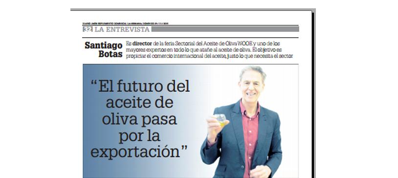 Entrevista en Diario de Jaén