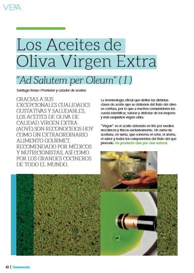Las cualidades del aceite de oliva virgen extra y su variedad, analizados por Botas en 'Vega'